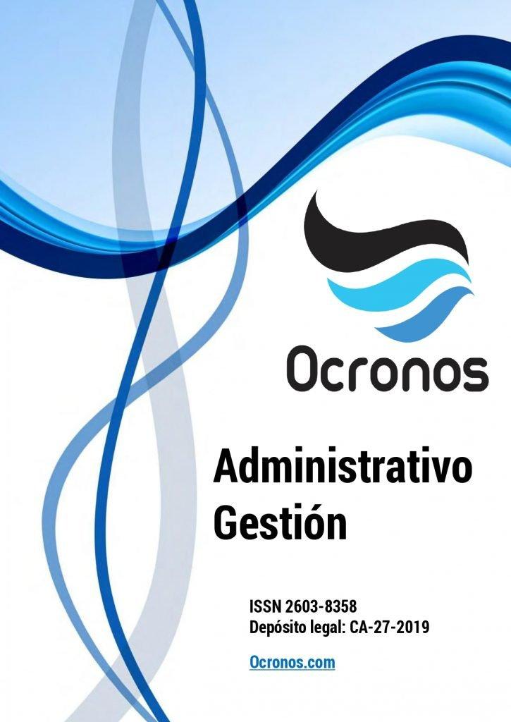 Portada revista personal administrativo gestion